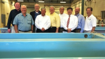 Cullman and BFHOF Officials Visit Auburn Fisheries