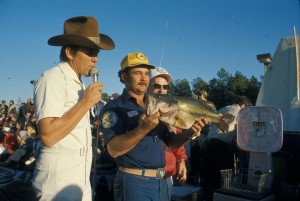 Ricky Green long held the Bassmaster Classic record for the heaviest bass — an 8-pound, 9-ounce largemouth he caught on Lake Guntersville, Ala., in 1976